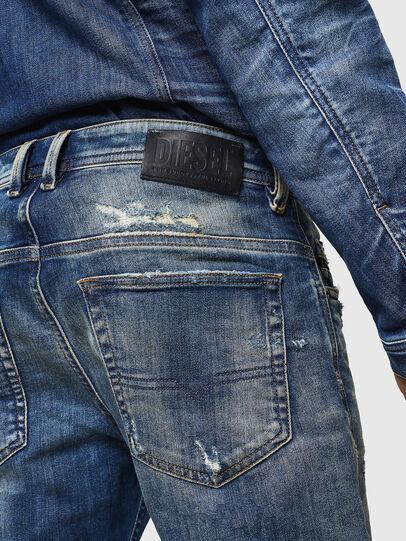 Diesel - Thommer JoggJeans 0870Q, Mittelblau - Jeans - Image 5