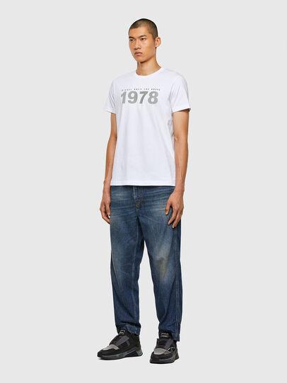 Diesel - T-DIEGOS-N33, Weiß - T-Shirts - Image 4