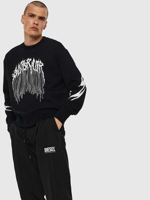 S-BAY-B10, Schwarz - Sweatshirts