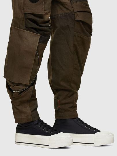 Diesel - P-JANE, Verde Militare - Pantaloni - Image 4
