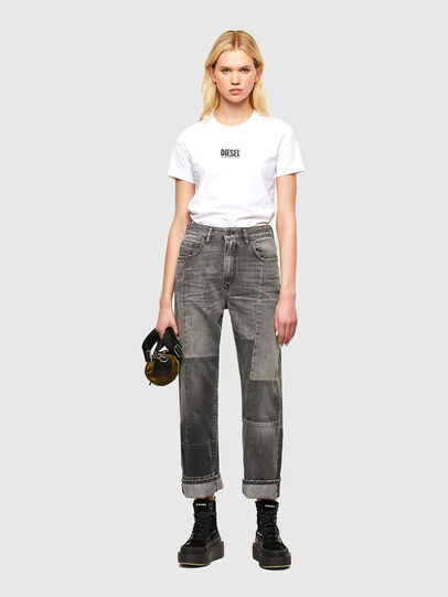 Diesel - T-SILY-SMALLOGO, Blanc - T-Shirts - Image 4
