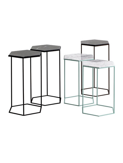 Diesel - HEXXED - SIDE TABLE, Multicolor  - Furniture - Image 1