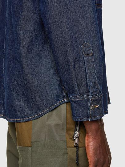 Diesel - D-RAPP, Blu Scuro - Camicie in Denim - Image 5