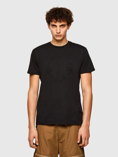 Diesel - T-DIEGOS-A2, Nero - T-Shirts - Image 1