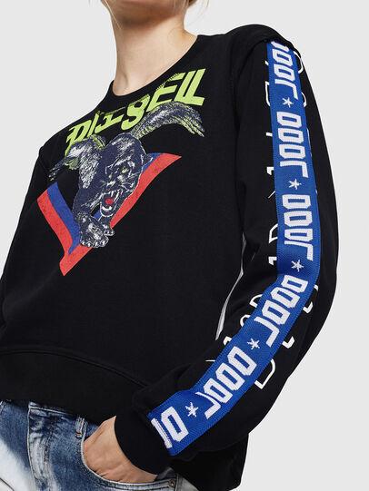 Diesel - F-LYANYDY, Schwarz - Sweatshirts - Image 5