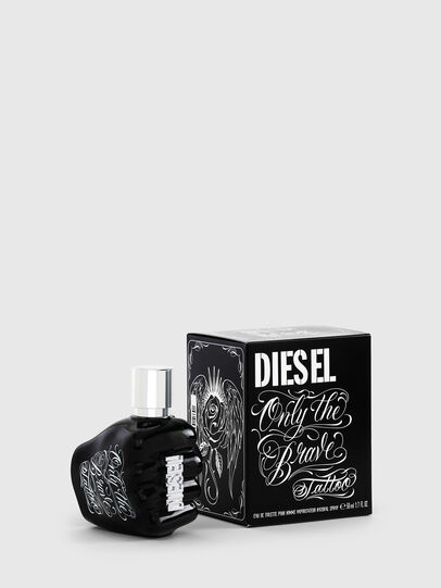 Diesel - ONLY THE BRAVE TATTOO 50 ML, Schwarz - Only The Brave - Image 1