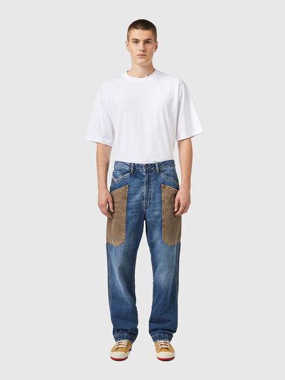 Diesel - D-Franky 0GCAY, Bleu moyen - Jeans - Image 6