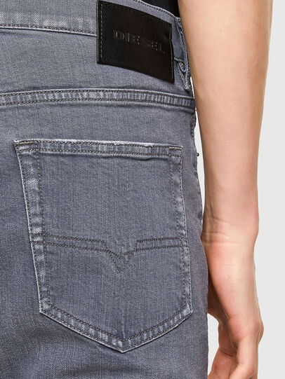 Diesel - D-Luster 009PB, Grigio Chiaro - Jeans - Image 4