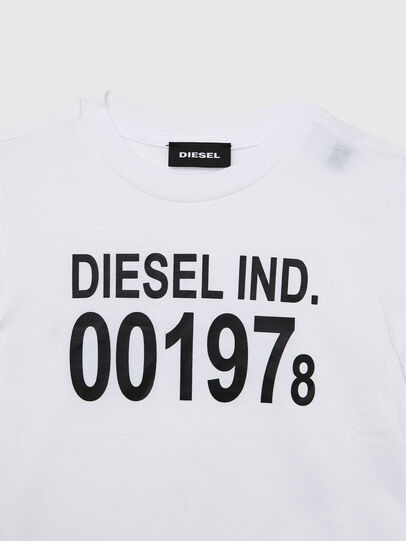 Diesel - TDIEGO001978B-R, Weiss/Schwarz - T-Shirts und Tops - Image 3