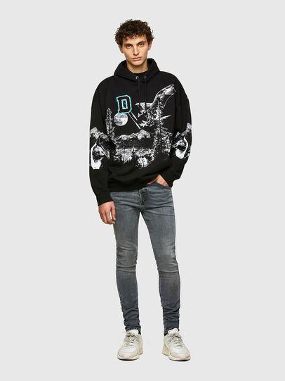 Diesel - D-Reeft JoggJeans® 069RD, Black/Dark grey - Jeans - Image 5