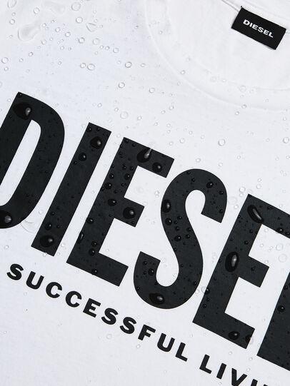 Diesel - T-DIEGO-LOGO, Weiß - T-Shirts - Image 5