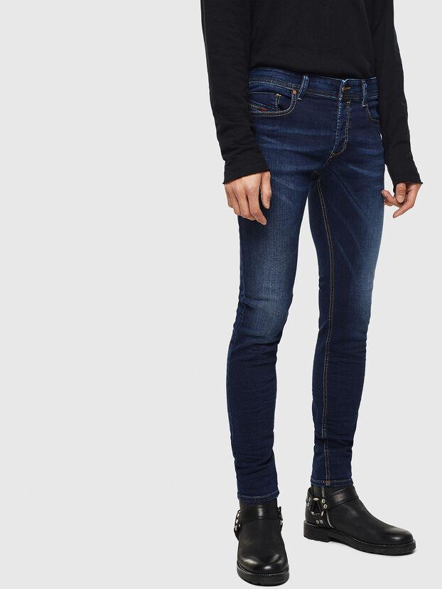 Sleenker 084RI, Dunkelblau - Jeans
