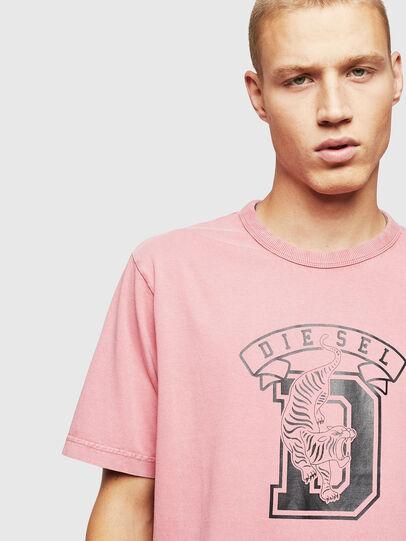 Diesel - T-JUST-B2, Rosa - T-Shirts - Image 3