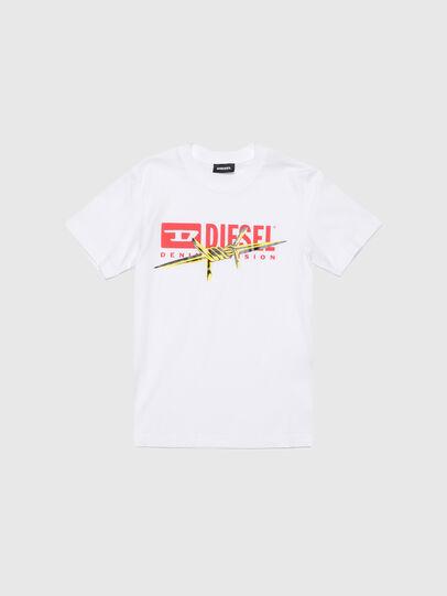 Diesel - TDIEGOBX2, Bianco - T-shirts e Tops - Image 1