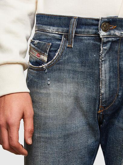 Diesel - D-Strukt 009TX, Bleu Foncé - Jeans - Image 4