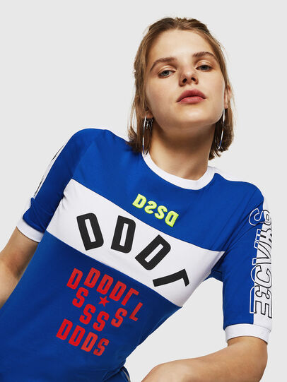 Diesel - T-HEIA-B, Brillantblau - T-Shirts - Image 3