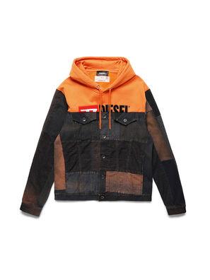 D-BNHILL55, Orange - Denim jacken