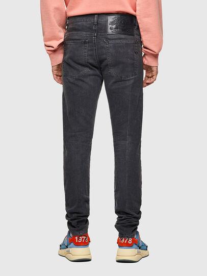 Diesel - D-Amny JoggJeans® 09A74, Noir/Gris foncé - Jeans - Image 2
