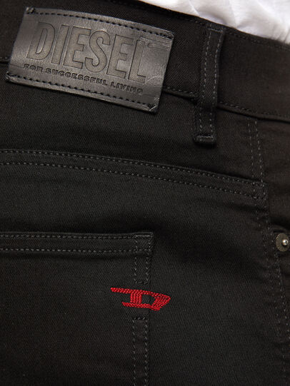 Diesel - D-Istort 069EF, Schwarz/Dunkelgrau - Jeans - Image 4