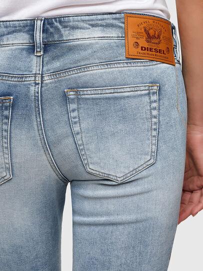 Diesel - D-Ollies JoggJeans® 069UX, Bleu Clair - Jeans - Image 4