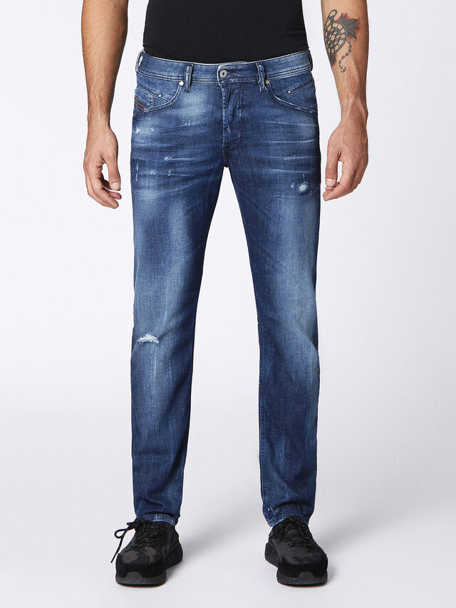 BELTHER 084MX, Jeansblau