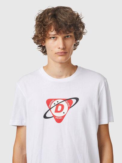 Diesel - T-DIEGOS-K24, Blanc - T-Shirts - Image 3