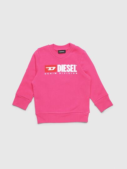 Diesel - SCREWDIVISIONB-R, Fuchsie - Sweatshirts - Image 1
