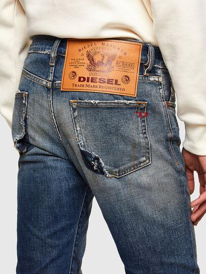 Diesel - D-Strukt 009TX, Bleu Foncé - Jeans - Image 5