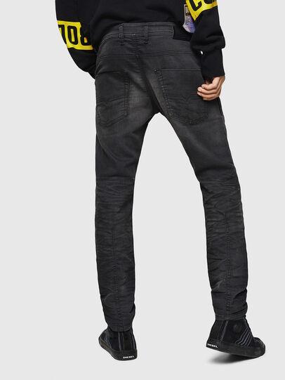 Diesel - Krooley JoggJeans 069GN, Schwarz/Dunkelgrau - Jeans - Image 2