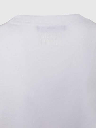 Diesel - T-SILY-E50, Weiß - T-Shirts - Image 4