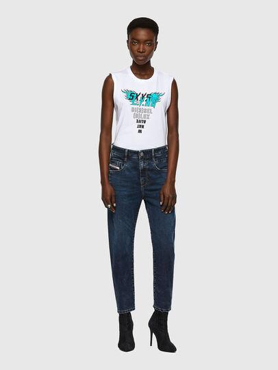 Diesel - Fayza JoggJeans® 069WZ, Blu Scuro - Jeans - Image 5