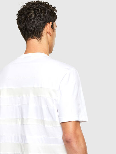 Diesel - T-LOUD, Bianco - T-Shirts - Image 3