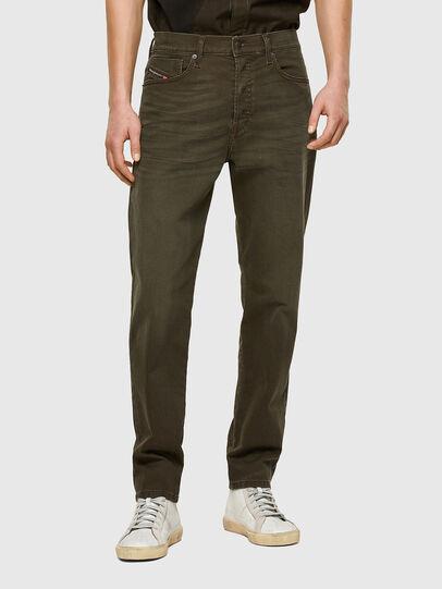 Diesel - D-Fining 0699P, Verde Militare - Jeans - Image 1