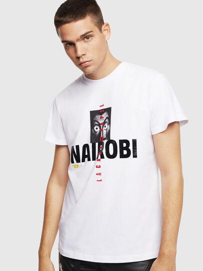 Diesel - LCP-T-DIEGO-NAIROBI, Weiß - T-Shirts - Image 1
