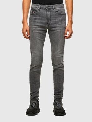 D-Amny 009NZ, Schwarz/Dunkelgrau - Jeans