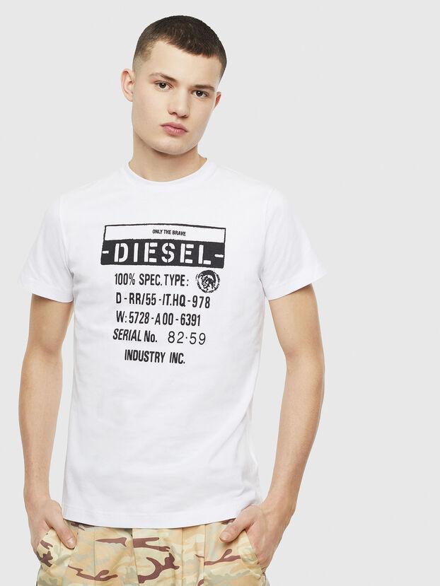 T-DIEGO-S1, Weiß - T-Shirts