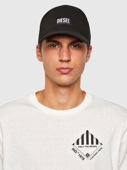 Diesel - T-JUST-LS-N60, Weiß - T-Shirts - Image 4