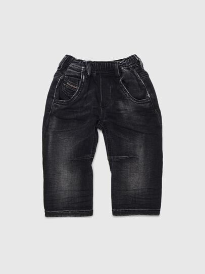 Diesel - FAYZA JOGGJEANS B-N, Schwarz/Dunkelgrau - Jeans - Image 1