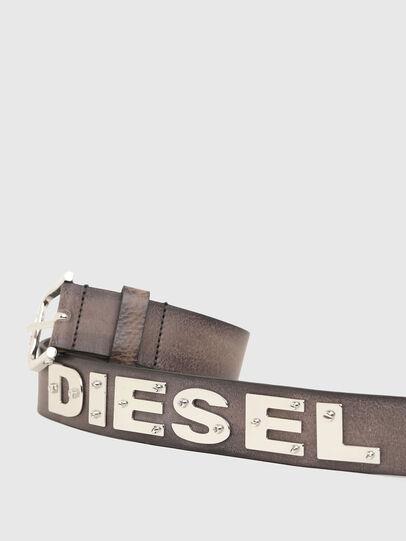 Diesel - B-DIZEL, Marron - Ceintures - Image 4