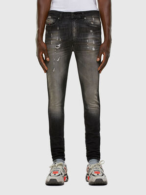D-Reeft JoggJeans 009FX, Schwarz/Dunkelgrau - Jeans