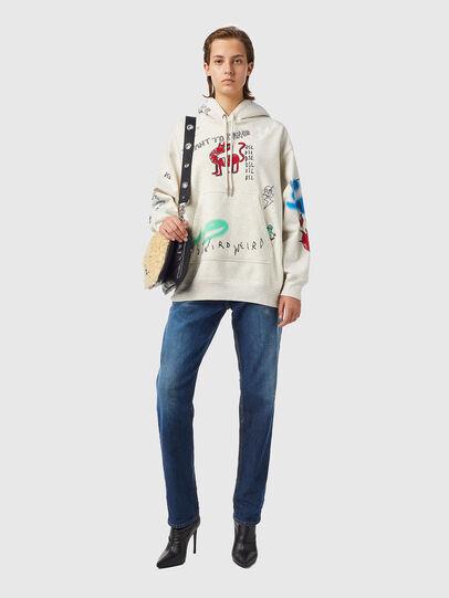 Diesel - F-EXA-HOOD-B2, Light Grey - Sweaters - Image 5