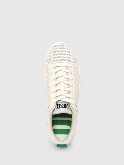 Diesel - S-CLEVER LOW LACE, Blanc/Vert - Baskets - Image 6