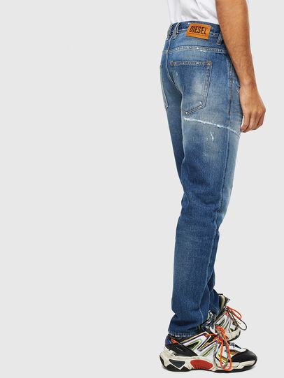 Diesel - D-Vider 0097B, Mittelblau - Jeans - Image 4