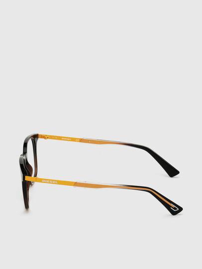 Diesel - DL5349, Schwarz/Gelb - Korrekturbrille - Image 3