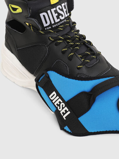 Diesel - S-SHARQUEZ MID, Schwarz - Sneakers - Image 4
