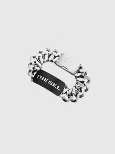 Diesel - DX0019, Silber - Armbänder - Image 1