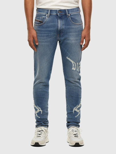 Diesel - D-Strukt 009DW, Hellblau - Jeans - Image 1