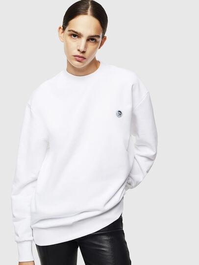 Diesel - S-LINK, Weiß - Sweatshirts - Image 2
