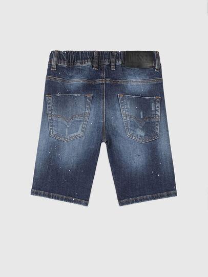 Diesel - KROOLEY-NE-J SH, Bleu Foncé - Shorts - Image 2