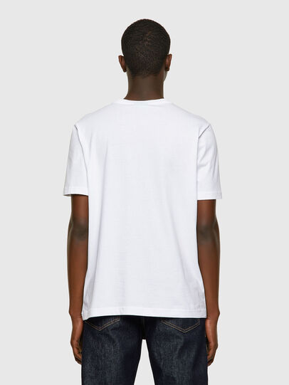 Diesel - T-JUST-INLOGO, Blanc - T-Shirts - Image 2